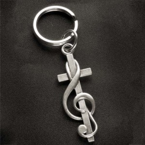 Original Pewter Keychain